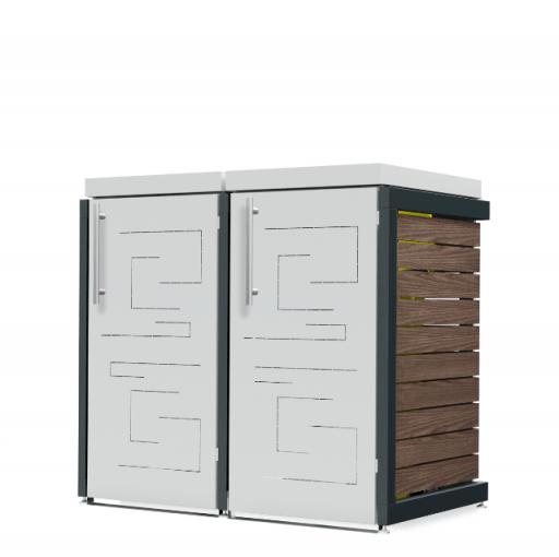 Mülltonnenbox Oscar-023