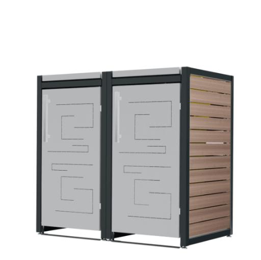 Mülltonnenbox Carl-045