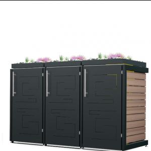 Mülltonnenbox Oscar-005