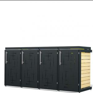 Mülltonnenbox Oscar-007