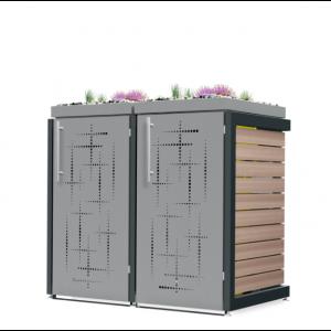 Mülltonnenbox Oscar-009