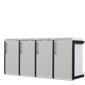 Mülltonnenbox Oscar-027