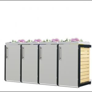 Mülltonnenbox Oscar-037