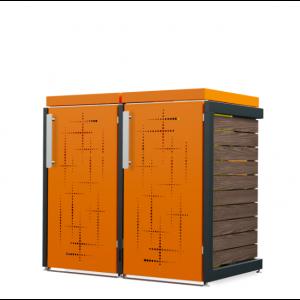 Mülltonnenbox Oscar-047