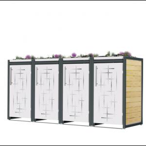Mülltonnenbox Carl-006