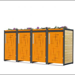 Mülltonnenbox Carl-010
