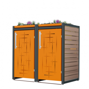 Mülltonnenbox Carl-016