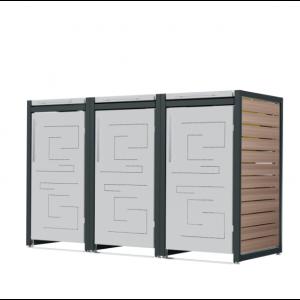 Mülltonnenbox Carl-040
