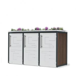 Mülltonnenbox T3-074